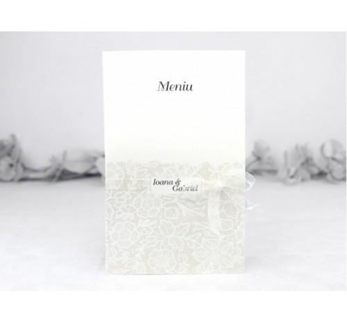 Meniu Elegant Flori Ivory - Raymonde