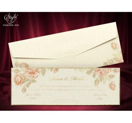 Invitatie Agnes Vintage Trandafiri
