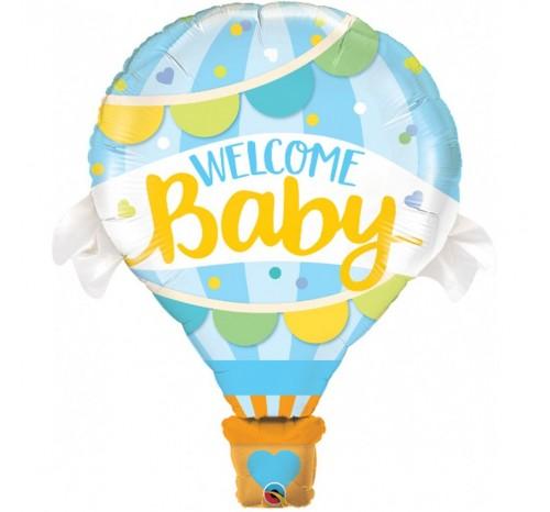Balon Folie Welcome Baby 106 cm