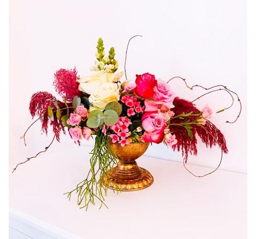 Vaza Metal pt Aranjamente Florale